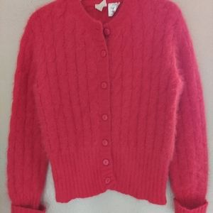 Vintage Krizia Maglia Angora Sweater 46